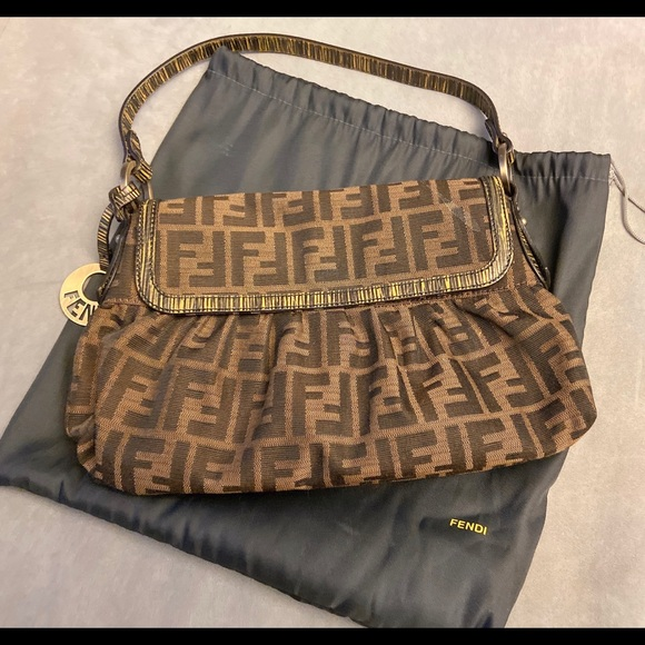 Fendi Handbags - Almost like new Fendi small shoulder bag